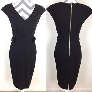 Jennifer Lopez Little Black BodyCon Dress Size 2